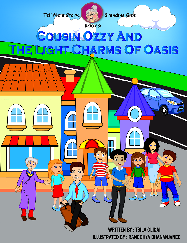 Tell Me A Story, Grandma Glee!- book 9- Cousin Ozzy And The Light Charms Of Oasis
