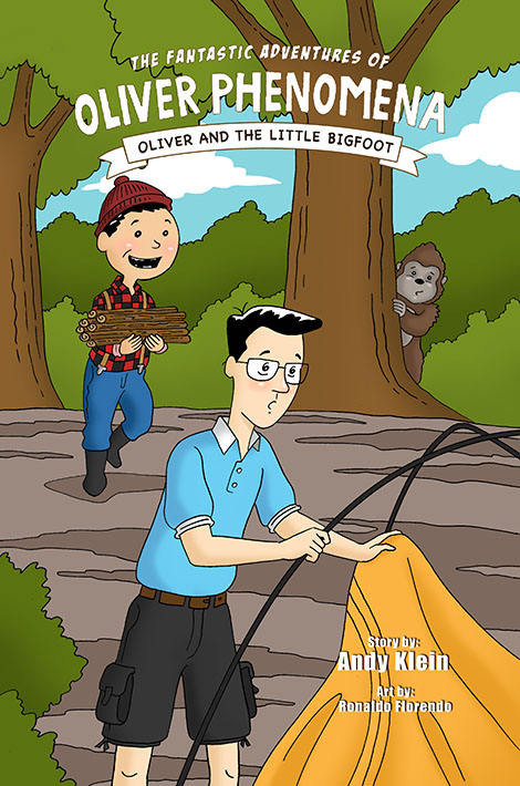 Oliver and the Little Bigfoot